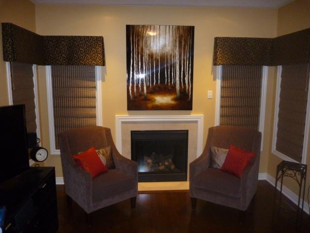 Vignettes by Hunter Douglas with draperies